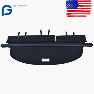 Black Trunk Cargo Luggage Security Shade Cover Shield Fit For Nissan Rogue 14 19