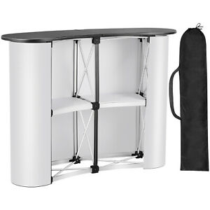 38 5 51 Pop Up Podium Counter Table Promotion Retail Speech Trade Show Display