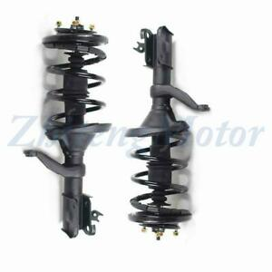 Front Pair Complete Quick Struts Coil Assembly Fits For 2007 2011 Honda Element