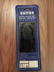 Unitor Filter Glass Set For Arc Welding new