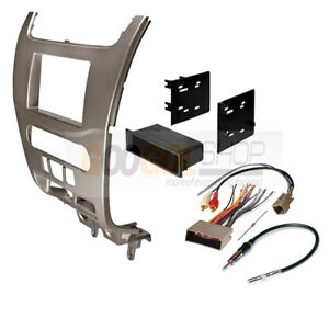 Fmk568 Single double Din Car Stereo Dash Install Kit For Ford Focus 2008 2011
