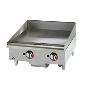 Star 624tf quick ship Star max Heavy Duty Griddle Gas Countertop