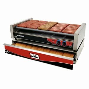 Star X50 Grill max 50 Hot Dog Grill Roller type Stadium Seating