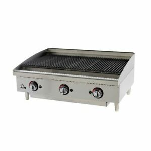 Star 6136rcbf quick ship Star max Charbroiler Gas Countertop