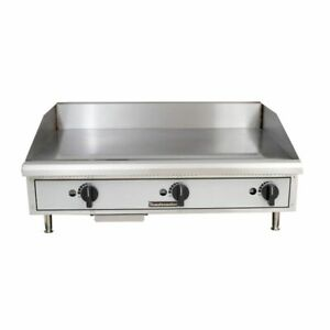 Toastmaster Tmgm36 Griddle Countertop Natural Gas 36 W X 21 D Cooking Surface