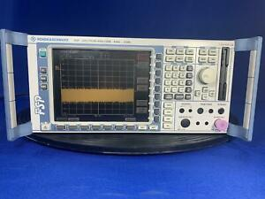 Rohde Schwarz Fsp3 3 Ghz Spectrum Analyzer With Opt B10 B25