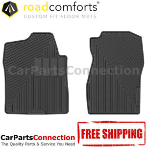 Road Comforts All Weather Floor Mat 204106 Front For Silverado 2009 1500 Reg Cab