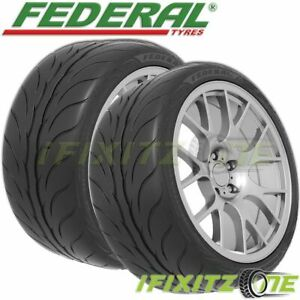 2 Federal 595rs pro 245 40zr19 98y Xl Extreme Performance 200aa Dot Racing Tires