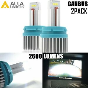 Led Back Up Bulb Reverse Light Bulb Backup Lamp For 2015 2019 Chevrolet Colorado