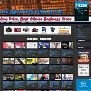 Business Book Store Great Profitable Online Home Business Website For Sale