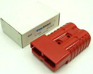 Smh Totalsource Sy6322g1 Battery Charger Connector For Forklift Red 350a 2 0