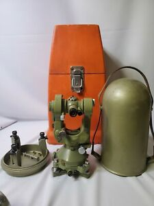 T2 55465 Wild heerbrugg theodolite With Both Cases