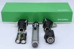Welch Allyn Pocket Scope With Otoscope 2 Heads And Ophthalmoscope