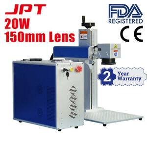 20w Jpt Laser Source Fiber Laser Marking Machine Laser Marker Engraver 150 150mm