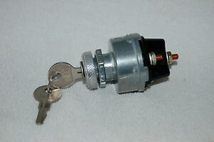 Ignition Switch For Willys Jeep Cj2a Cj3a Dj3a Cj3b Cj5 Cj6 1946 66 924918