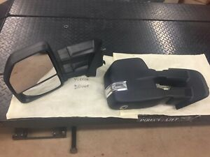 2016 Ford F 150 Driver Passenger Towing Mirrors 22 Pin