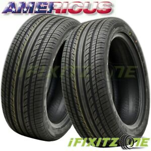 2 Americus Sport Hp 215 55r16 97v All Season Ultra High Performance Tires