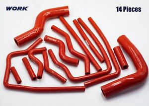 Silicone Radiator Hose Fit Subaru Legacy Bd5 Bg5 Bh5 Gt Rs Twin Turbo 1993 2003