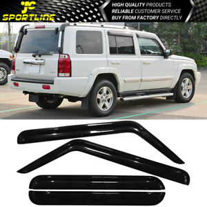 Fits 06 10 Jeep Commander Acrylic Window Visors 4pcs Set