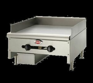Wells Hdg 3630g Griddle Countertop Natural Gas 35 W X 23 9 16 D Cooking Surface