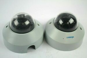Verint S5120fd dn Fixed Dome Security Camera lot Of 2