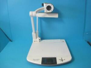 Elmo Digital Visual Presenter Document Camera Projector Model P30h No Ac Adapter