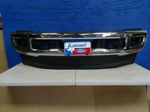 2017 2018 2019 Ford F 250 F 350 Front Bumper Chrome With Bracket local Pickup