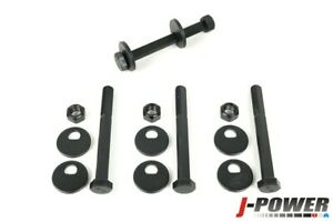 Front Lower Control Arm Camber Kit 12 9 Grade Cam Bolts Fits Nissan Trucks Suv