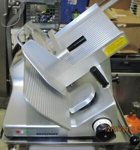 Bizerba Se12 Commercial Heavy Duty Manual Meat Cheese Deli Slicer 120v W table