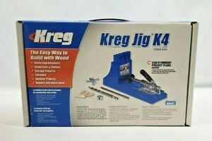 Kreg K4 Jig Pocket Hole System Woodworking Tool System Tool