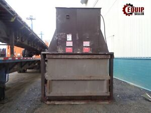 Trash Dumpster Hydraulic Compactor We Will Load For Free