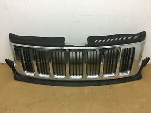 2011 2012 2013 Jeep Grand Cherokee Front Grille Chrome Oem 11 12 13 Good
