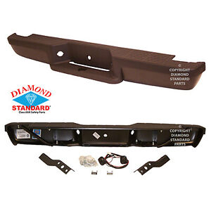 Replacement Step Bumper Assembly For 1993 2004 Ford Ranger Rear Fo1103110dsc