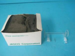 New Jasco Cylindrical Glass Cell P n 041g 1103 1101a Model Cg1 100 10mm X 100mm