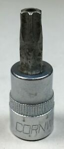 Cornwell Tools T45h Torx Socket 3 8 Drive Made In Usa Tool Nice Condition