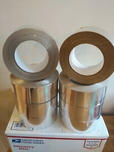 Aluminum Foil Adhesive Tape 8 Rolls 2 x55 Yds 50mm X 50m Silver Ship From Usa