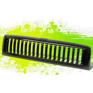 Glossy Black Vertical Bumper Grille Grill For Dodge Ram 1500 94 01 2500 3500 02