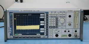 Rohde Schwarz Fsu3 3 6ghz Spectrum Analyzer Opt B25