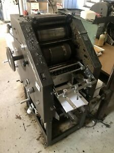 Ab Dick 8820 Chain Delivery Offset Printing Press