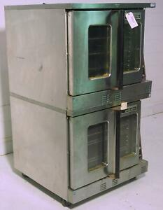 Garland Master 200 Gas Convection Oven Double Stack
