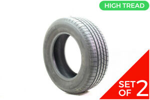 Set Of 2 Used 235 65r16 Michelin X Tour A s T h 103h 9 32