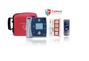 Philips Heartstart Fr2 Aed Defibrillator 2 Year Warranty new Pad 2022 Battery