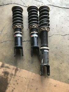 Bc Racing Br Adjustable Street Track Coilovers For 2000 09 Honda S2000 Used