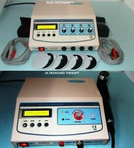 Electrotherapy Ultrasound Therapy Lcd Combo Management Electro Unit