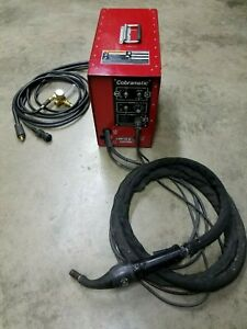 Lincoln Electric K1587 Cobramatic Push Pull Mig Alum Wire Feeder And Gun
