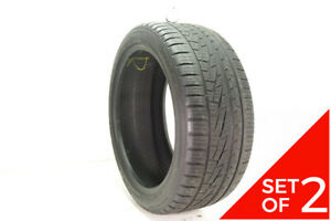 Set Of 2 Used P 275 40zr20 Falken Pro G4 As 106w 7 32