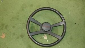 88 94 Chevy Truck Oem Leather Wrapped 4 Spoke Steering Wheel Blazer Silverado