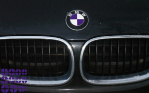 Emblem Overlay Vinyl Decal Sticker Complete Set For Bmw Many Colors Available