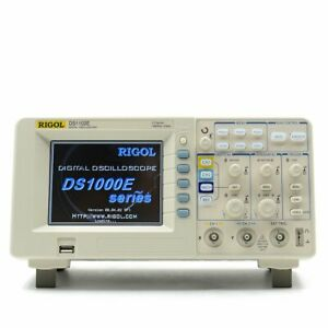 Rigol Ds1102e 100mhz Digital Oscilloscope Dual Analog Channels 1 Gsa s Samplin