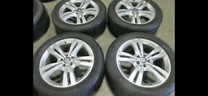 2012 15 Oem Mercedes Ml350 19 Wheels With 255 55 R19 Nitto Tires